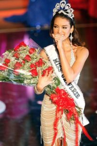 La modelo y Miss Universo 2006, Zuleyka Rivera, canceló su participación en el certamen Miss USA y se pronunció en contra de Trump Foto:Getty Images