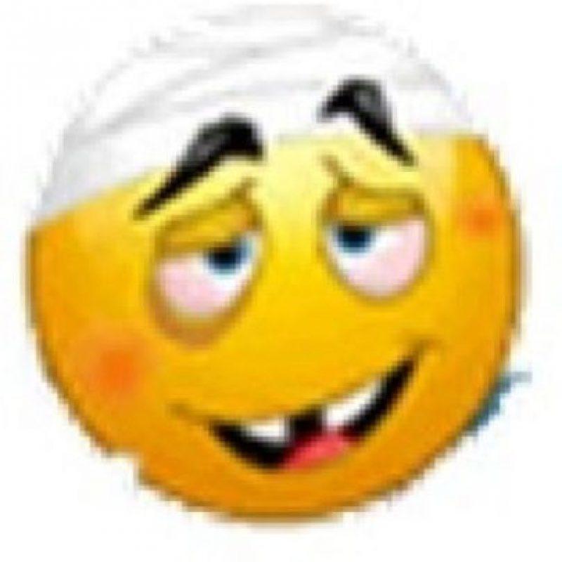 Rostro enfermo. Foto:emojipedia.org