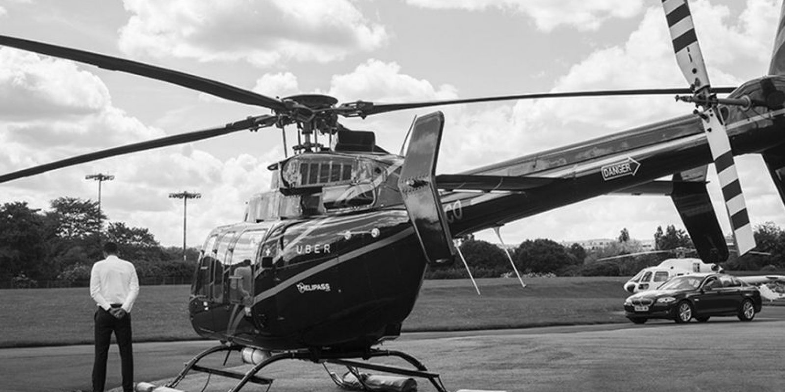 Durante la pasada edición del Festival de Cine de Cannes, Uber ofreció viajes en helicóptero. Foto:Uber