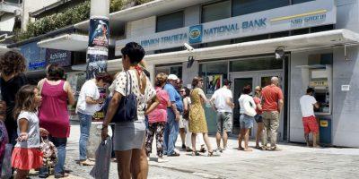 1. Los líderes de la Eurozona culparon a Grecia luego de que se pidiera una extensión del acuerdo actual hasta que realizaran un referendo sobre las condiciones del rescate. Foto:Getty Images