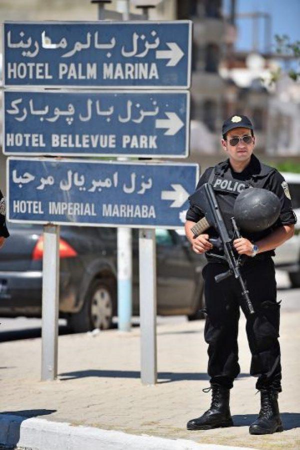 7. El atentado terrorista tuvo lugar en el Hotel Riu Imperial Marhaba. Foto:Getty Images