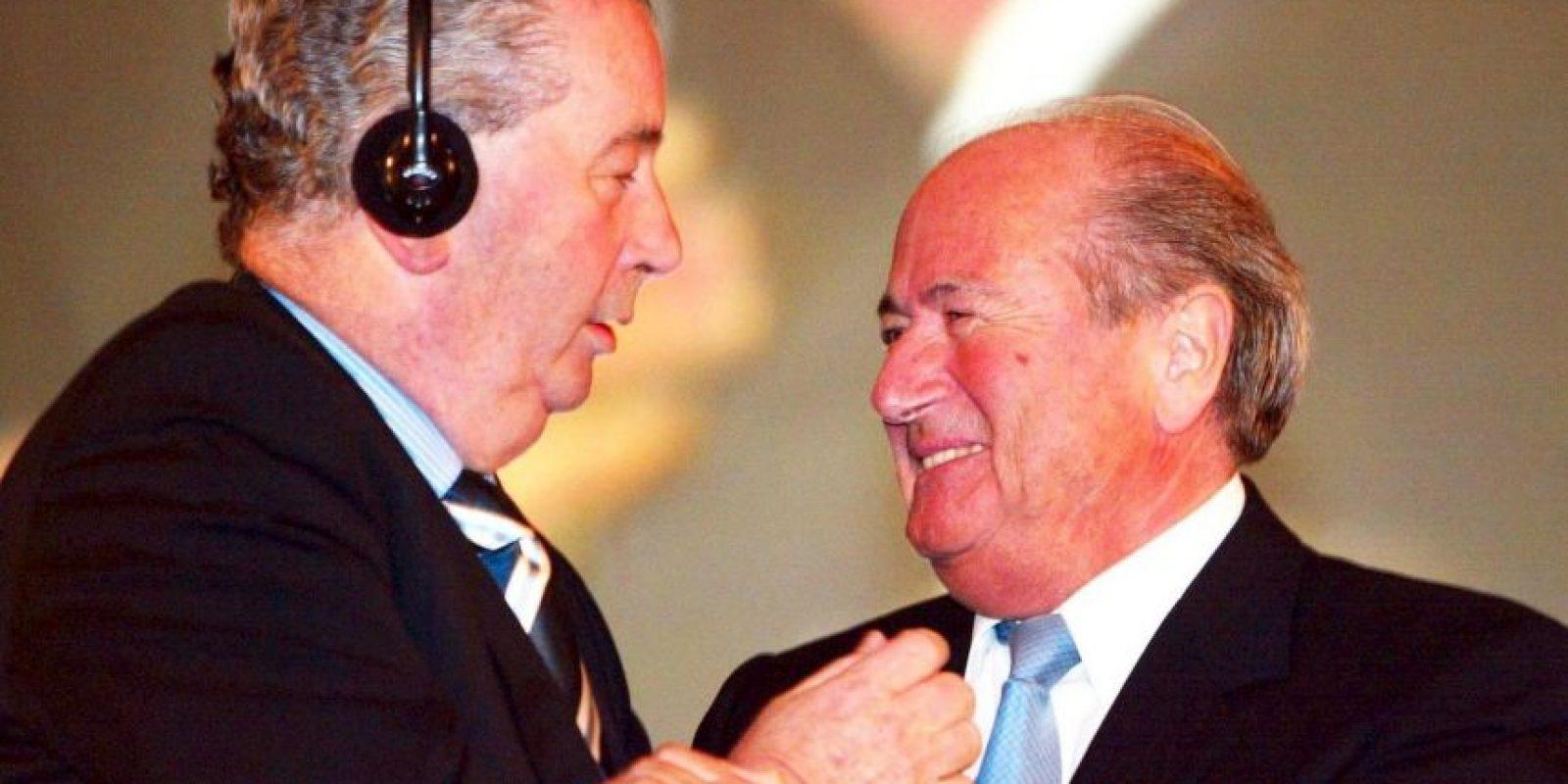Julio Grondona, expresidente de la AFA, es acusado de corrupción y manejos ilícitos en el fútbol. Foto:Getty Images
