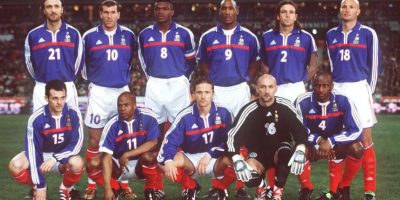 Esta ocurrió cuando compartió vestidor en el Arsenal con Patrick Vieira, también seleccionado francés. Foto:Getty Images