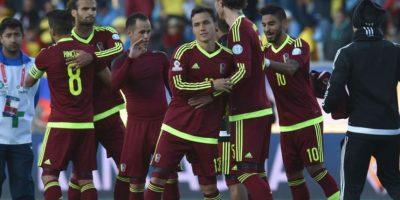"""La """"Vinotinto"""" sorprendió al ganarle a Colombia en el primer partido de la Copa, aunque luego sufrió dos derrotas. Su promedio fue de 39.67%. Foto:Getty Images"""