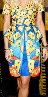 Rita Ora de queso. Foto:vía Getty Images