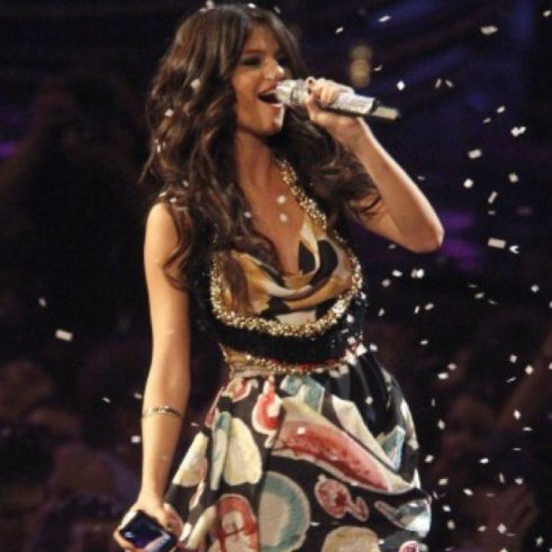 Selena Gómez, de supermercado. Foto:vía Getty Images
