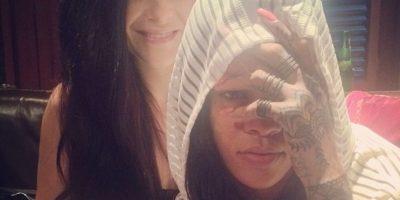 La compañera entintada de Bang Bang: Cally-Jo al rescate del tatuaje… Foto:Vía instagram.com/callyjoart