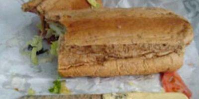 ¡Cuchillo! en sandwich Foto:vía Epic Fail