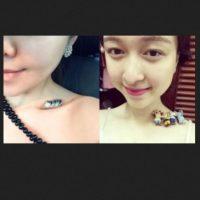 Las mujeres chinas comenzaron con esta tendencia. Foto:Weibo