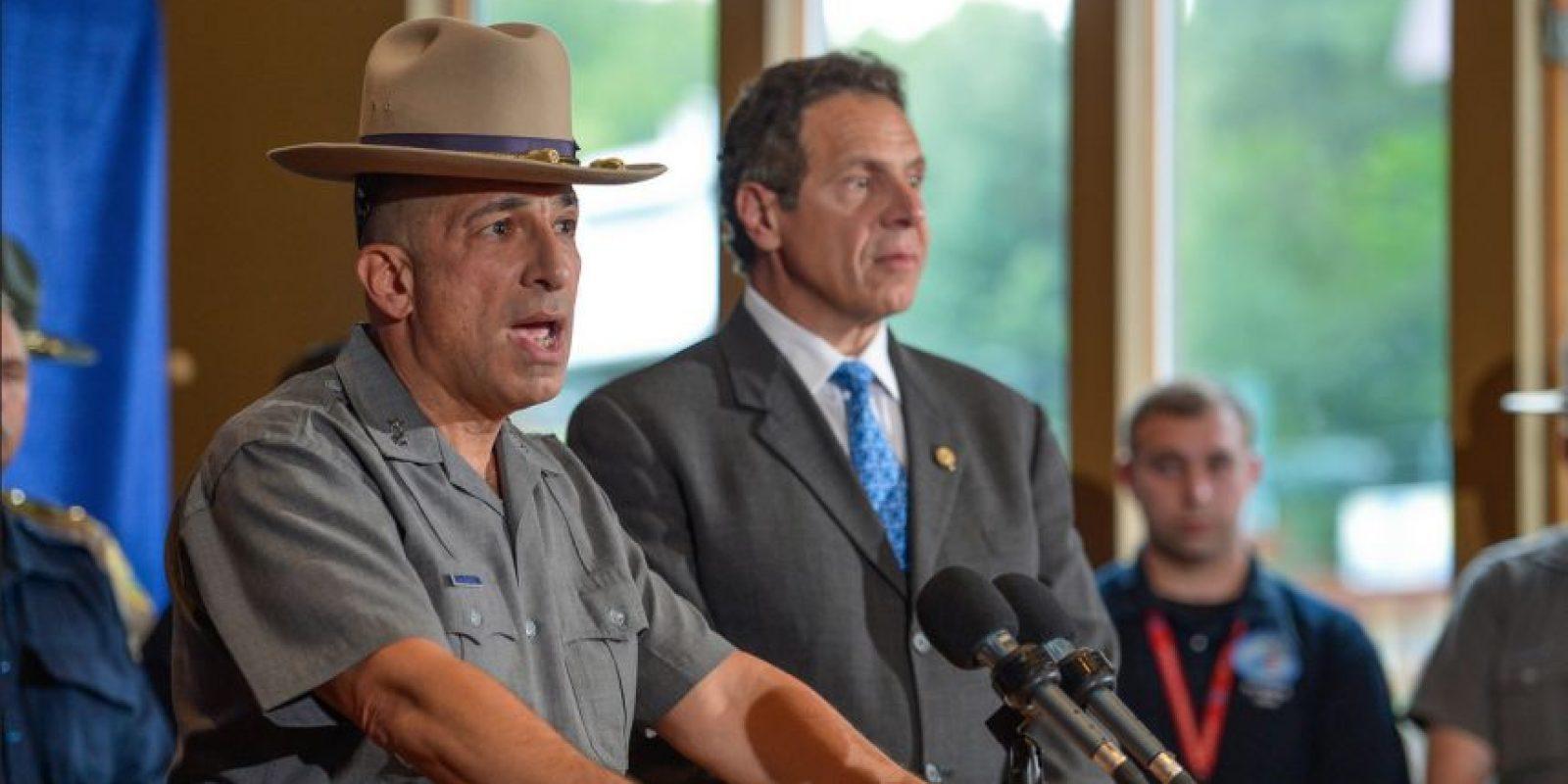 El Superintendente de la Policía Joseph D'Amico, describió cómo Jay Cook logró capturar al criminal. Foto:Vía flickr.com/governorandrewcuomo