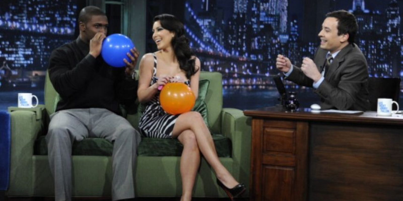 14. Luego, Kim salió con el jugador de la NFL, Reggie Bush. Foto:vía Getty Images