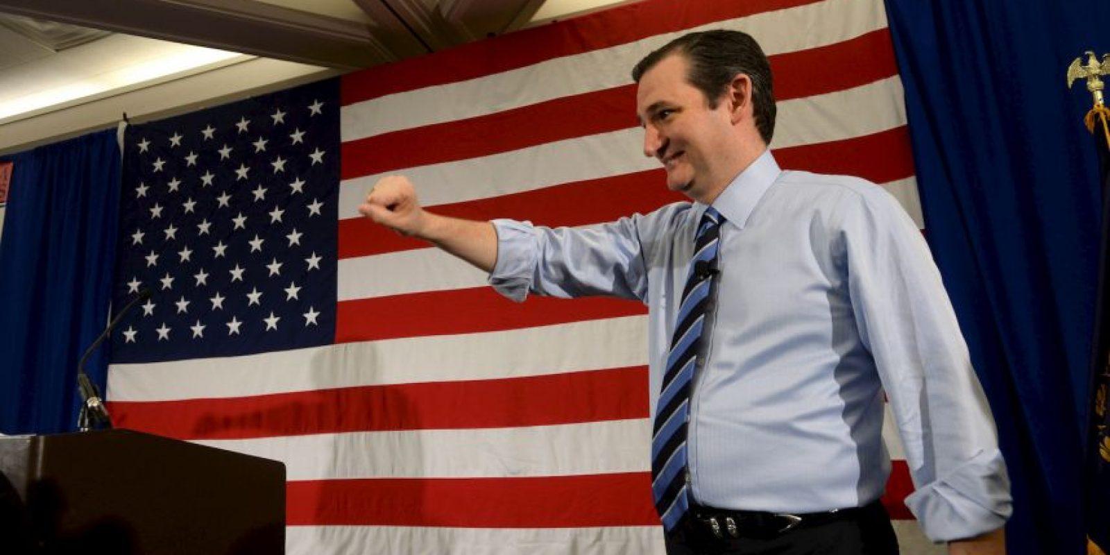 Ted Cruz, senador Foto:Getty Images