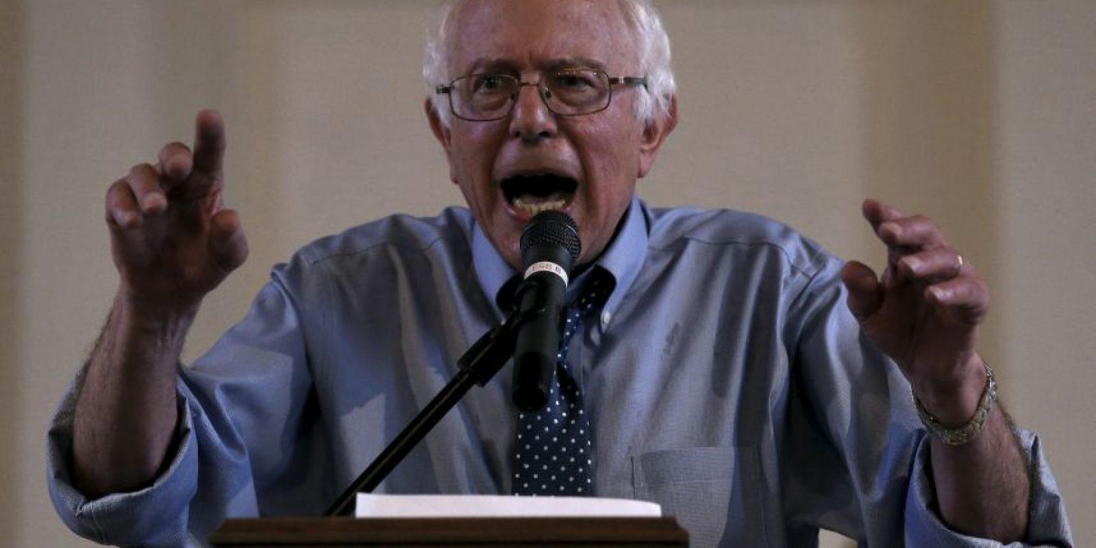 """""""Después de un año de viajes, discusiones y diálogos. He decidido ser un candidato demócrata para la nominación presidencial"""" Foto:Getty Images"""