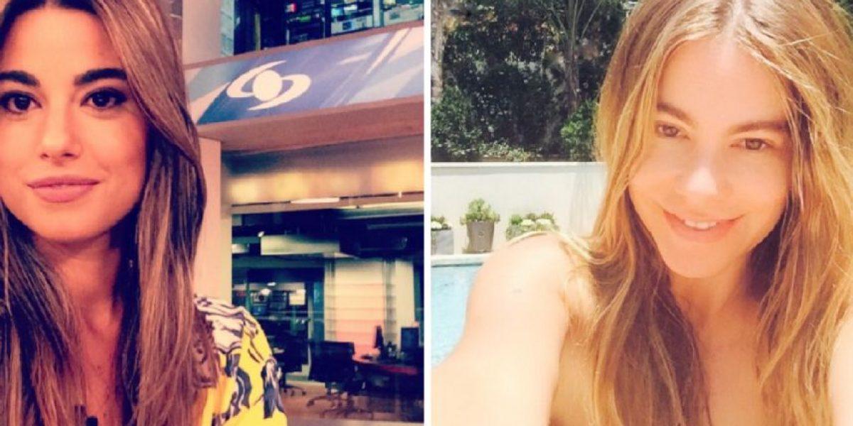 FOTOS: En Chile comparan a esta periodista con Sofia Vergara