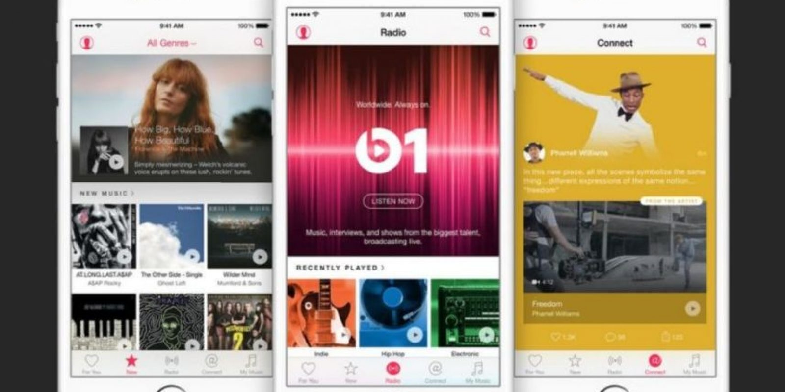 Apple Music buscará ser el nuevo monarca de la música en streaming. Foto: Apple