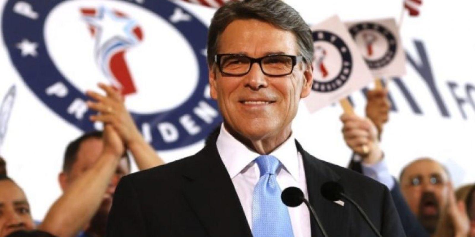 """""""Me postularé para presidente de los Estaods Unidos"""", comentó el exgobernador de Texas Foto:Getty Images"""