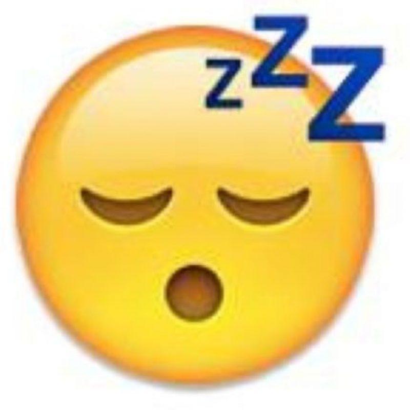 """Se puede utilizar para decir: """"Me estoy durmiendo"""", """"estoy dormido"""". Foto:emojipedia.org"""
