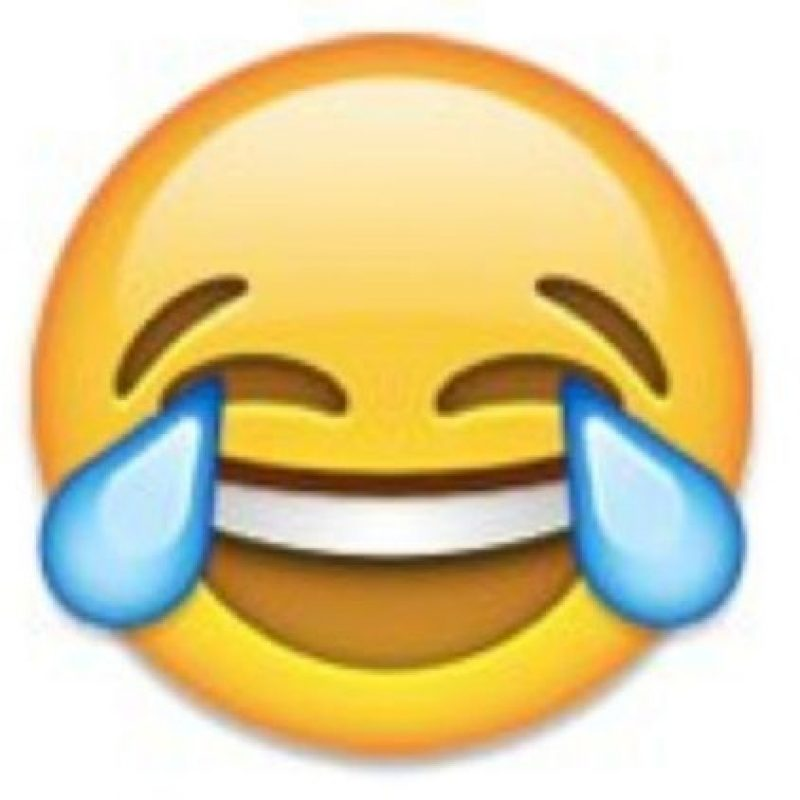 """Se puede utilizar para decir: """"Es muy divertido"""", """"eso me da mucha risa"""". Foto:emojipedia.org"""