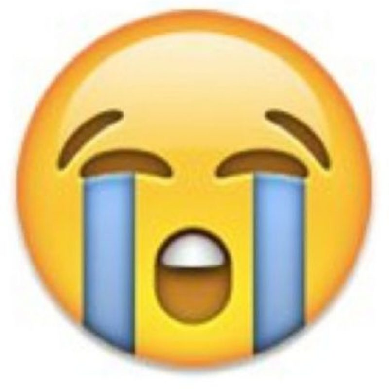 """Se puede utilizar para decir: """"Estoy llorando"""", """"eso duele"""", """"no me siento bien anímicamente"""". Foto:emojipedia.org"""