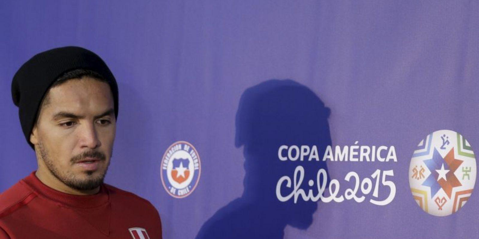 Juan Manuel Vargas es el lateral izquierdo Foto:AFP