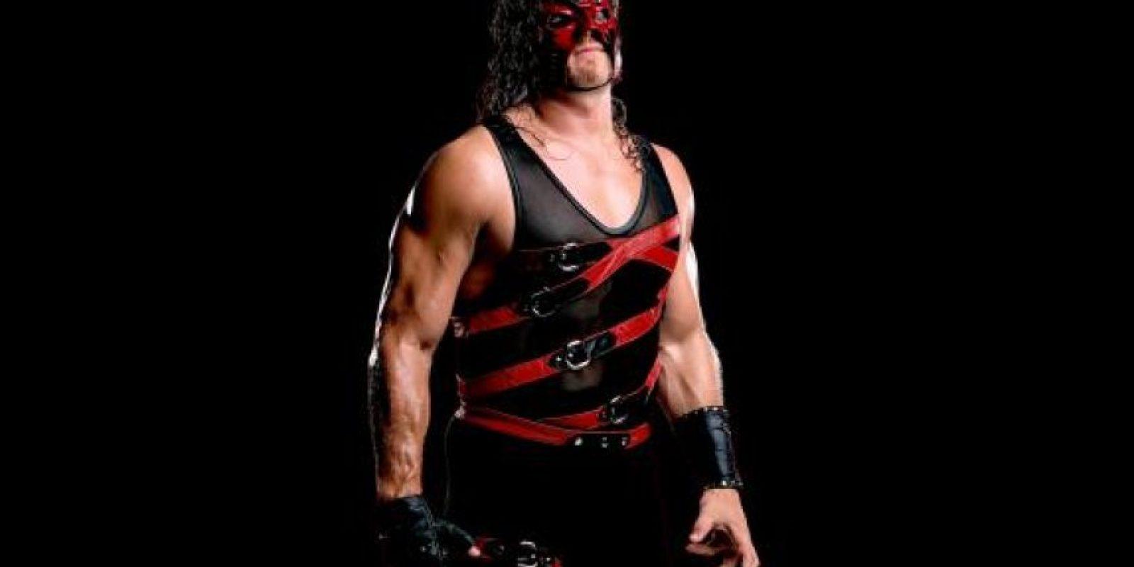 Kane. El demonio rojo de la destrucción Foto:WWE