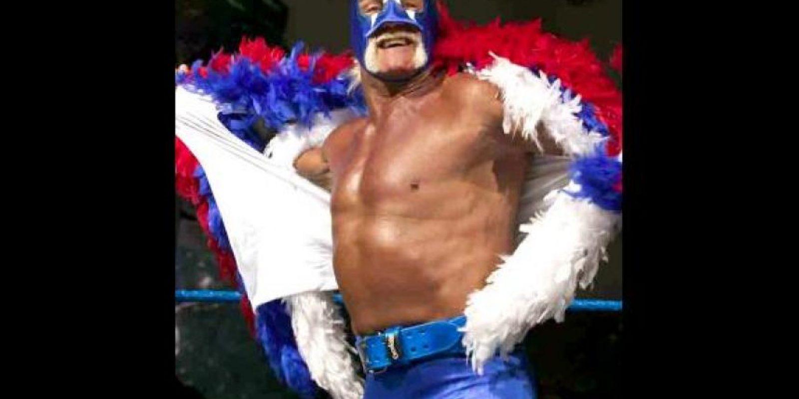 Mr. America. Así se hizo llamar por un tiempo Hulk Hogan Foto:WWE