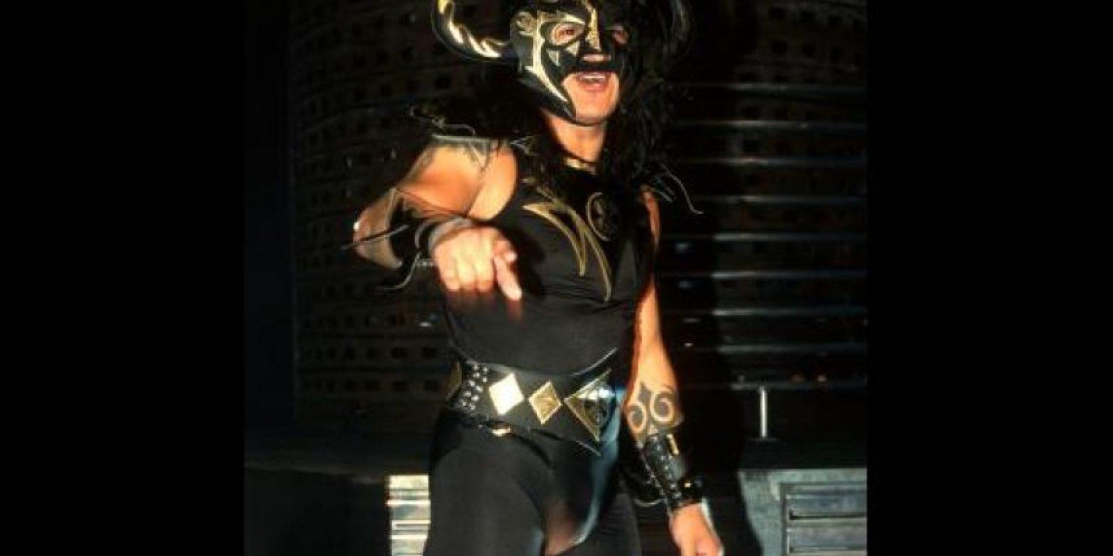 Psicosis. También conocido como Nicho El Millonario, ha peleado en AAA, WWE, ECW y TNA Foto:WWE