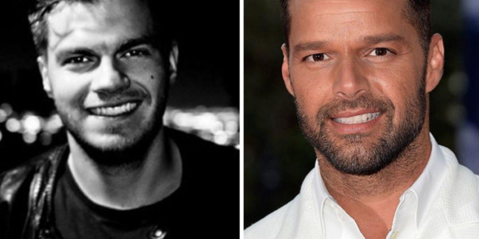A Ricky Martin Foto:vía Reddit