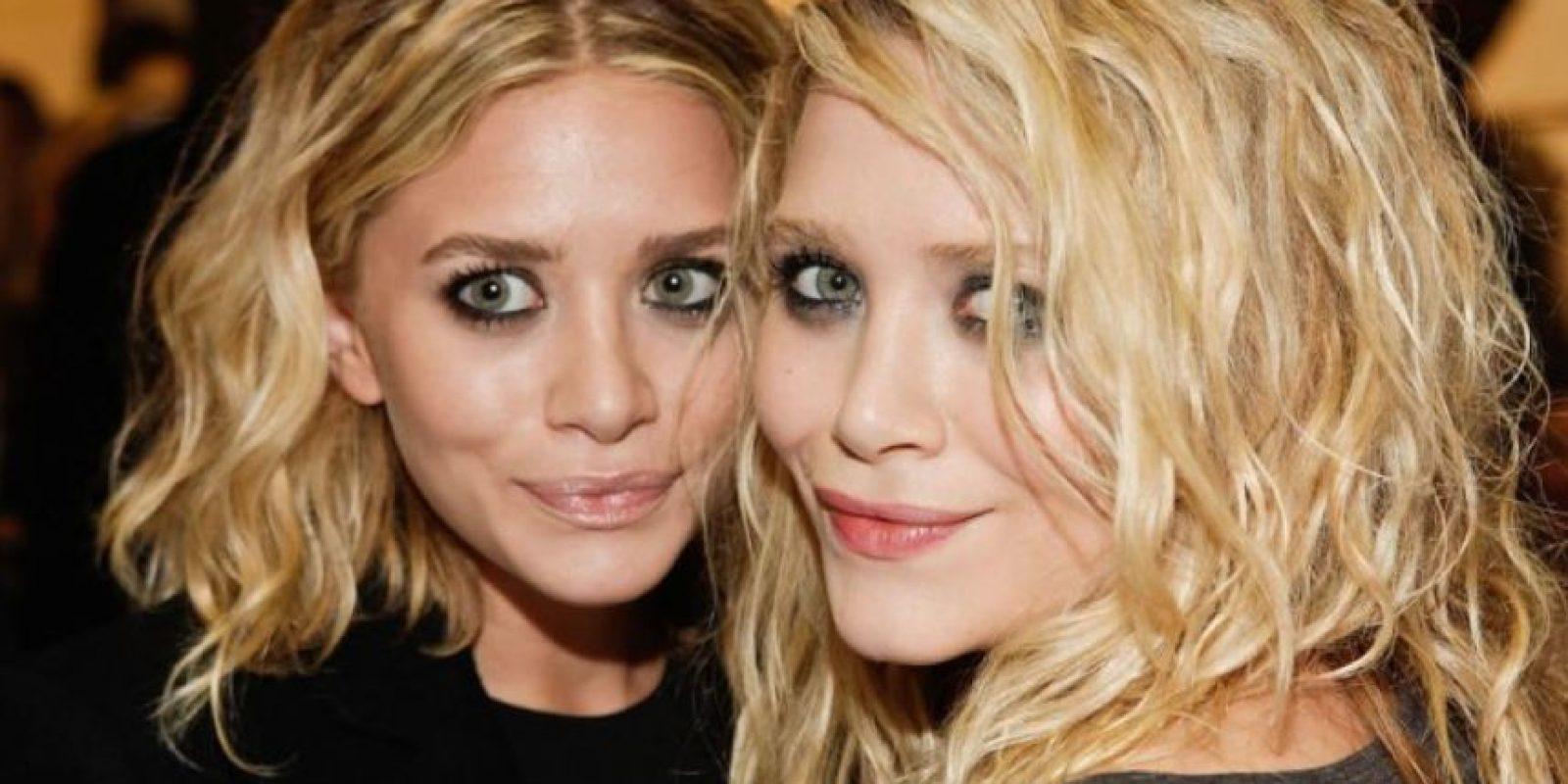 Pero a medida que crecieron y su compañía de moda se expandió, ellas cambiaron radicalmente de apariencia. Foto:vía Getty Images