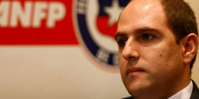 Sergio Jadue, el presidente de la Asociación Nacional de Fútbol de Chile, es el único directivo que ha dado la cara en el torneo Foto:ANFP