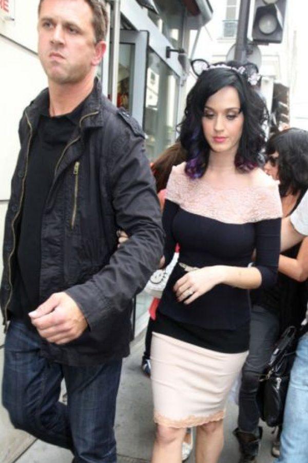 9. Katy Perry también está a salvo con los cuidados de este galán que la acompaña a todos lados. Foto:Getty Images