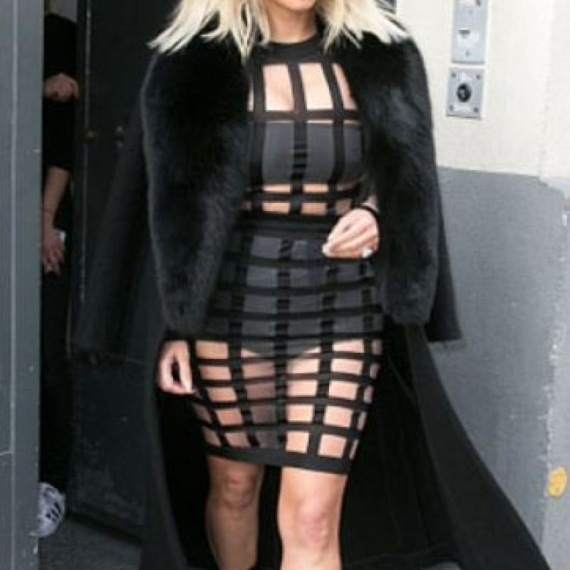 No ajusta los vestidos nunca a su forma del cuerpo. Foto:vía Getty Images