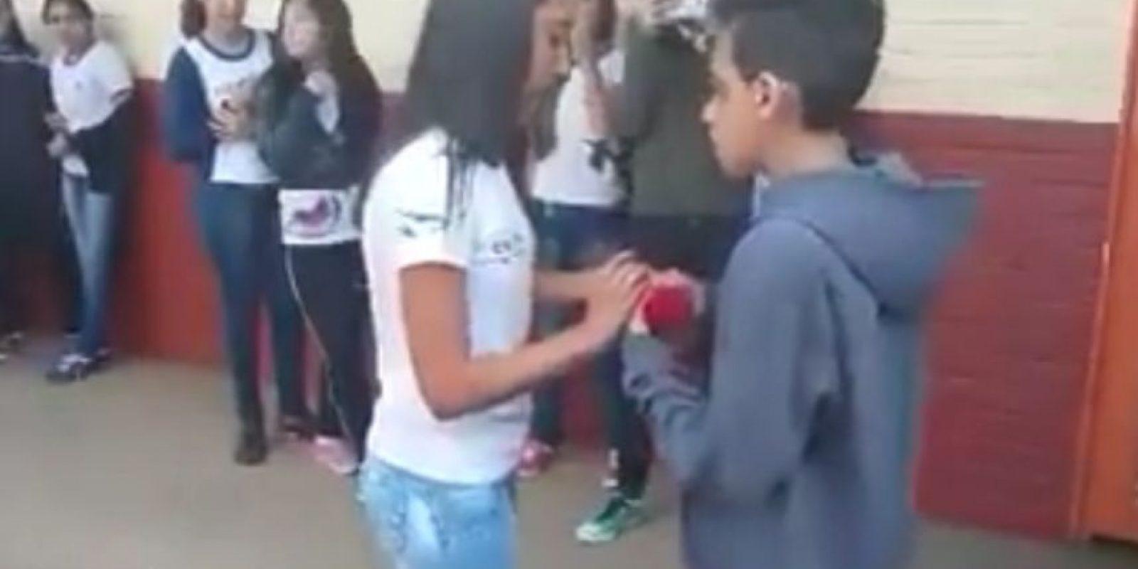 """Sin embargo, poco después, el """"profe"""" lo arruinó. Foto:Vía Youtube/Brazilian Guy"""
