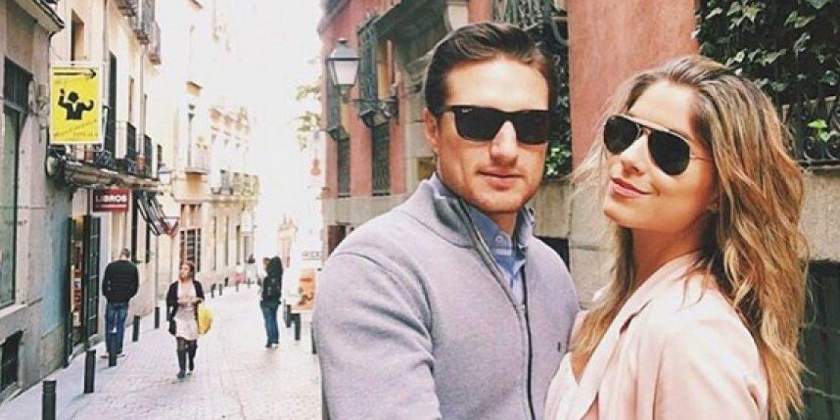 Él es Álvaro Rodríguez, el novio de Laura Tobón