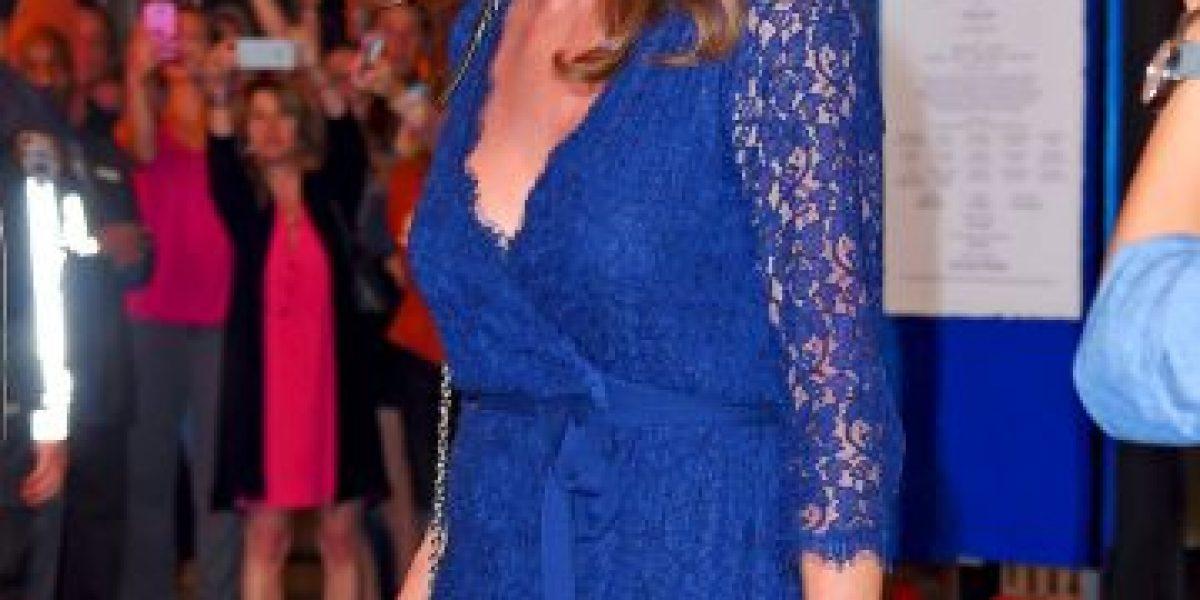 Caitlyn Jenner y su pronunciado escote acaparan la atención