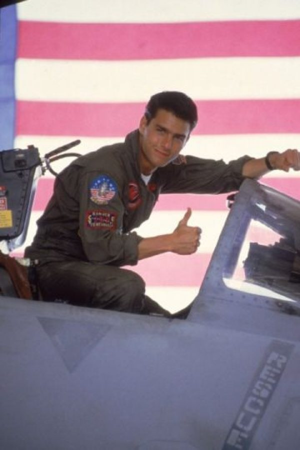 "Tom Cruise interpretó a ""Maverick"" en 1986. Foto:IMDb"