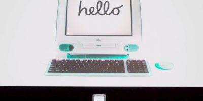 Terminando con el lanzamiento de la iMac en 1998. Foto:Universal Pictures