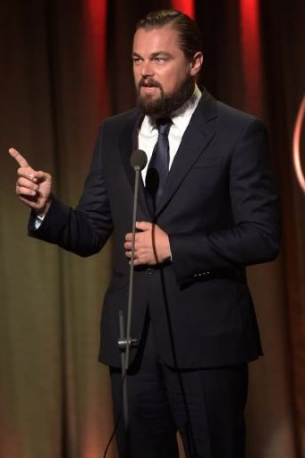 El recordado actor Leonardo Di Caprio Foto: Getty Images