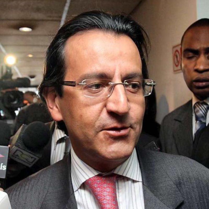 Edmundo del Castillo, secretario jurídico del entonces presidente Uribe. Foto:Tomada de eluniversal.com.co