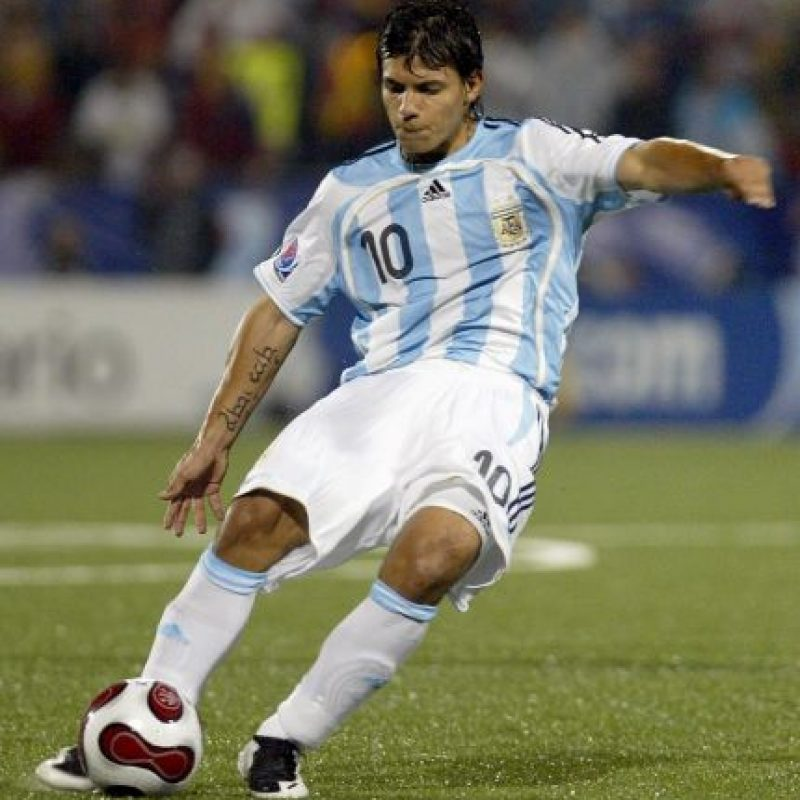 Sergio Aguero (2007) Foto: Getty Images