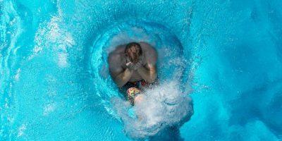 En Alemania mucha gente se refresca nadando. Foto:AFP