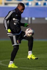 """Este jugador de la """"Vinotinto"""" tampoco pudo mostrarse pues se fue de la Copa sin haber jugado un sólo minuto. Foto:Getty Images"""