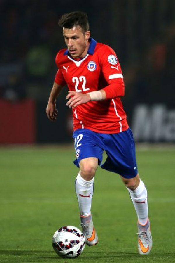 El delantero chileno no ha tenido minutos. Sólo jugó medio tiempo del duelo entre Chile y Bolivia de la fase de grupos, pero causó buena impresión por su actuación. Foto:Getty Images