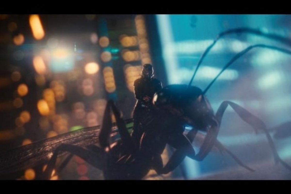 """""""Ant-Man"""" cuenta la historia de un ladrón que tiene la habilidad de encogerse e incrementar su fuerza. Foto:IMDb"""