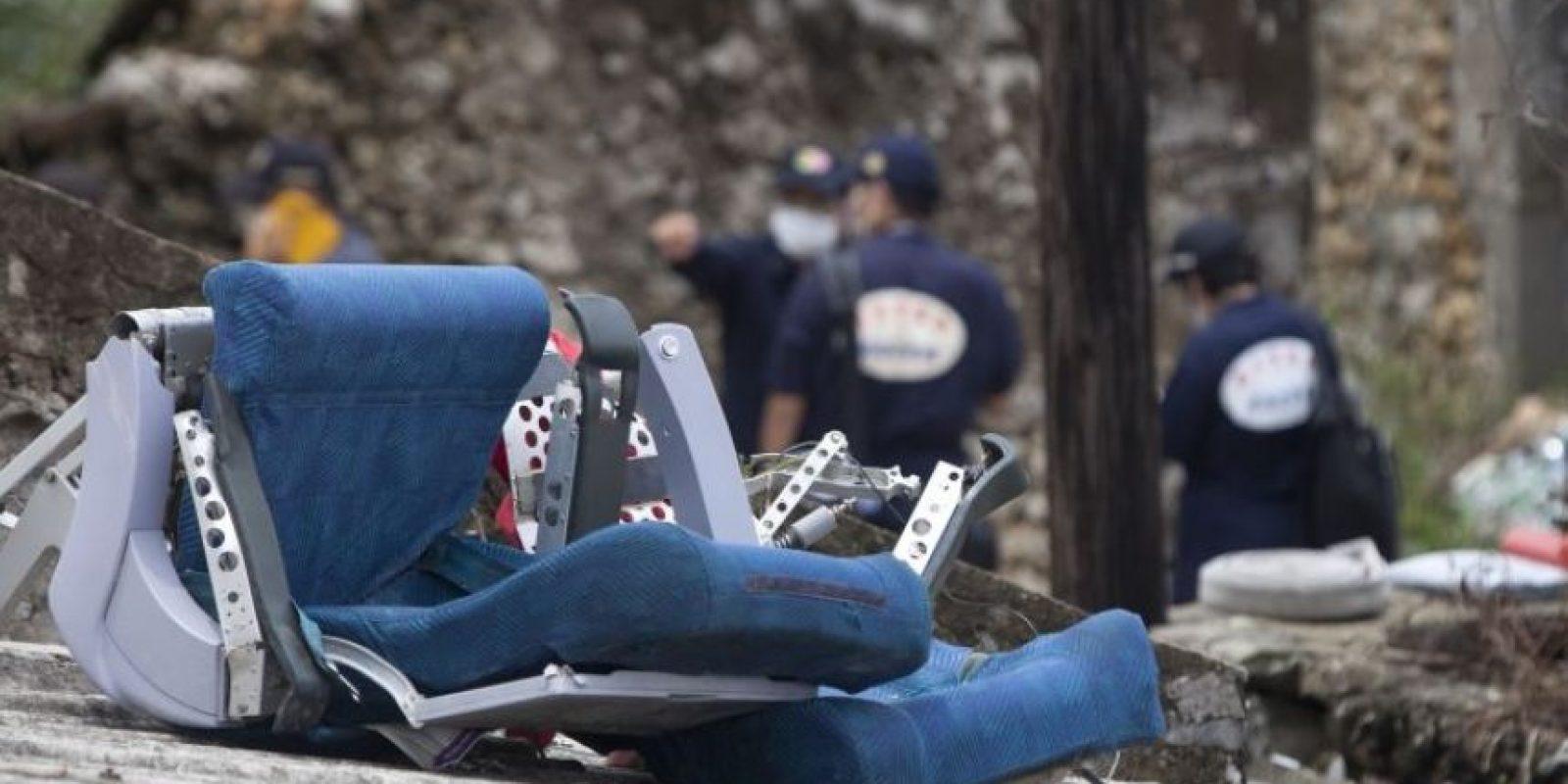 El vuelo MH-17, también de Malaysia Airlines, fue derribado en el este de Ucrania. Foto:AFP