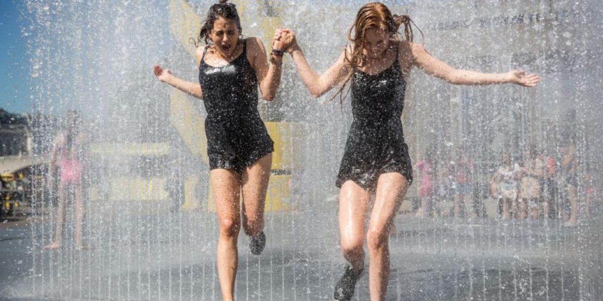 Fotos: Así se vive la ola de calor en Europa