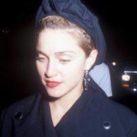 Madonna siempre tuvo su característica nariz afilada. Foto:vía Getty Images