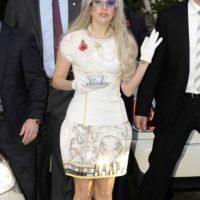 Con un vestido ensoñador. Foto:vía Getty Images