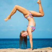 Tiene más de un millón de seguidores en Instagram Foto:Vía Instagram/@yoga_girl