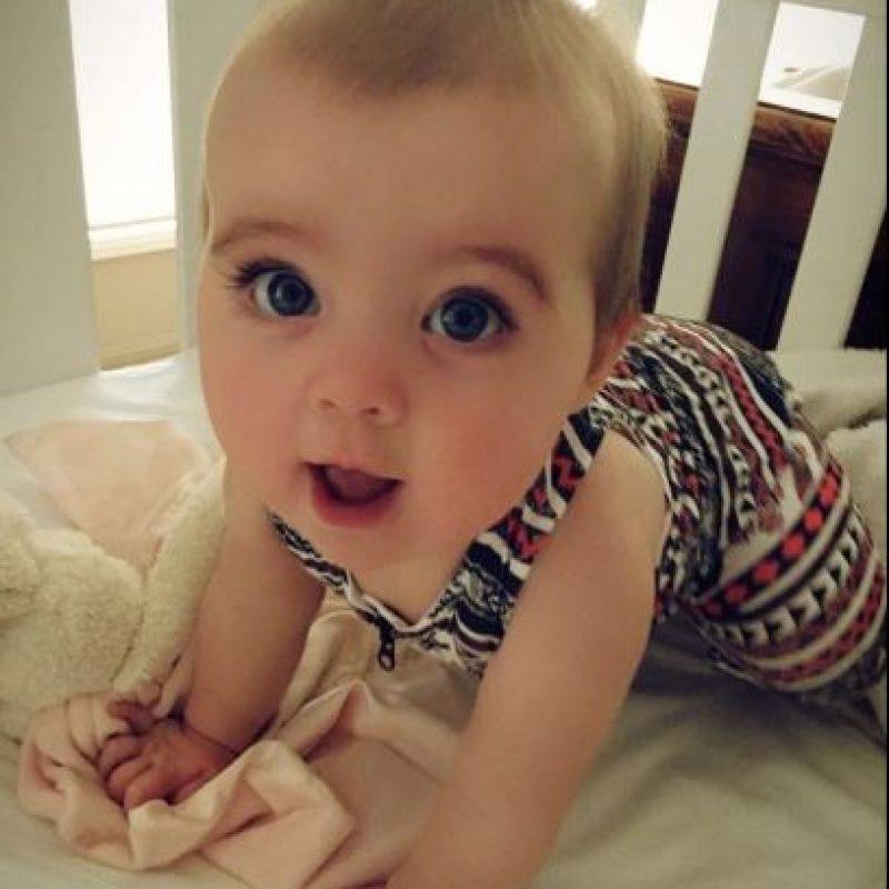 Aún no sabe caminar, pero ya ha llamado la atención de la familia Kardashian Foto:Vía facebook.com/littlemissegypt